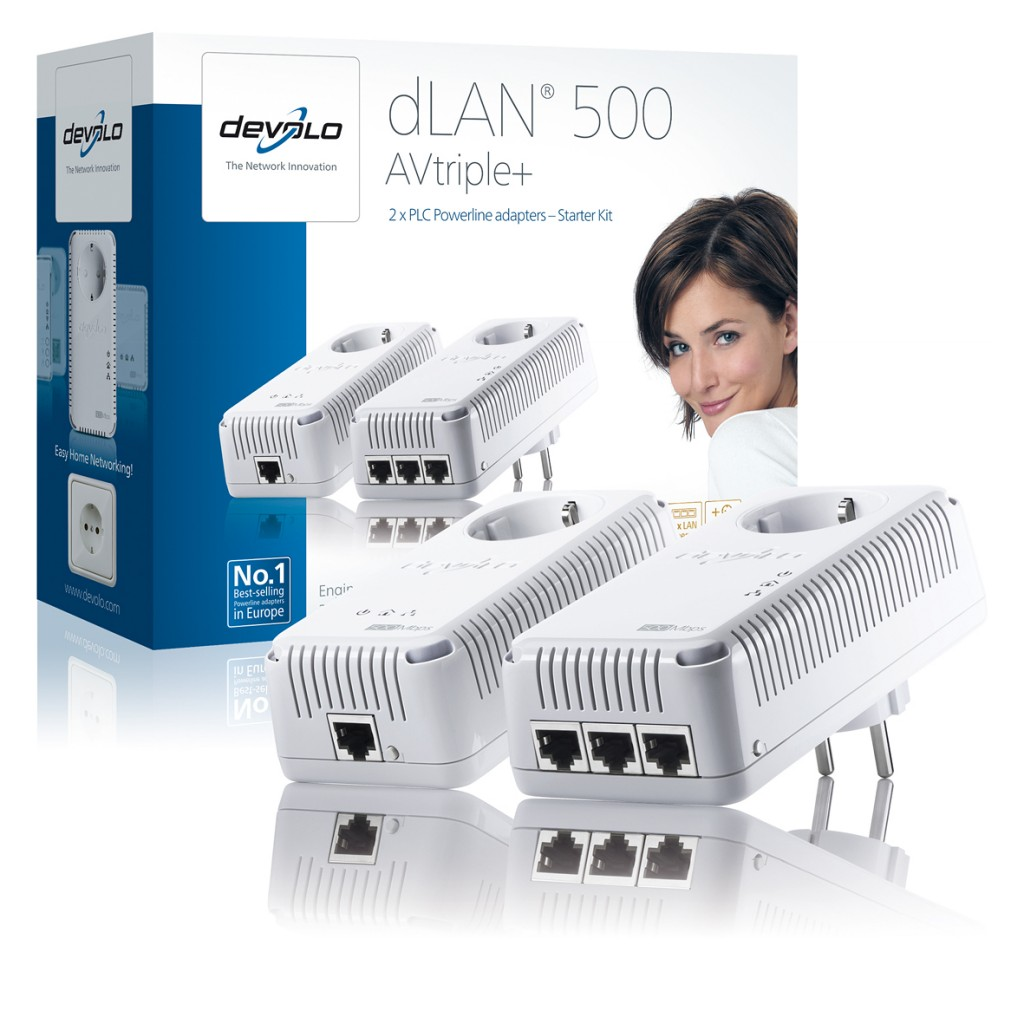 Devolo dLAN 500 AVTriple+